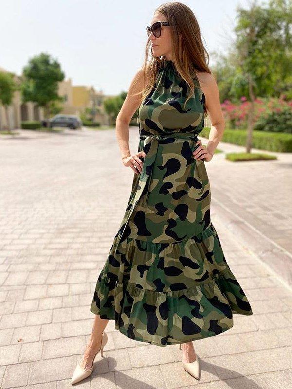 Camo dress