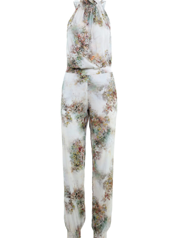 Flora tie top