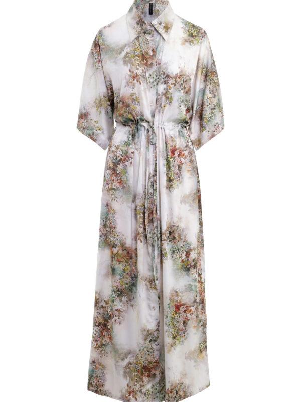 Flora kimono dress