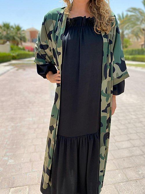 Camuflage kimono