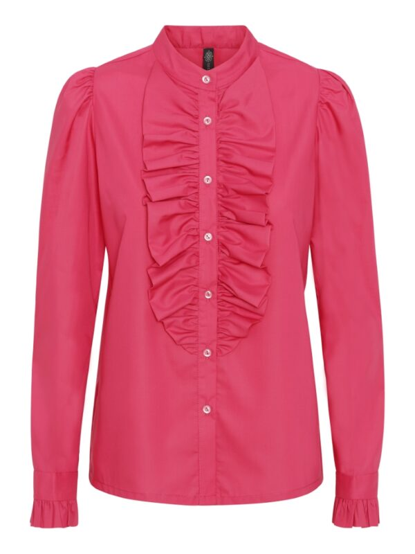 The Queen Ruffle Taffy Pink
