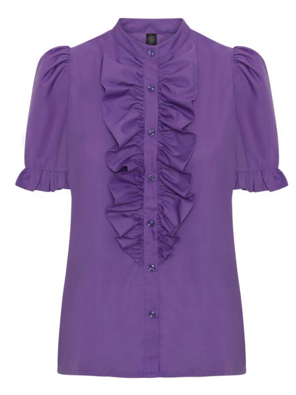 The Queen Ruffle Junior Lavendel