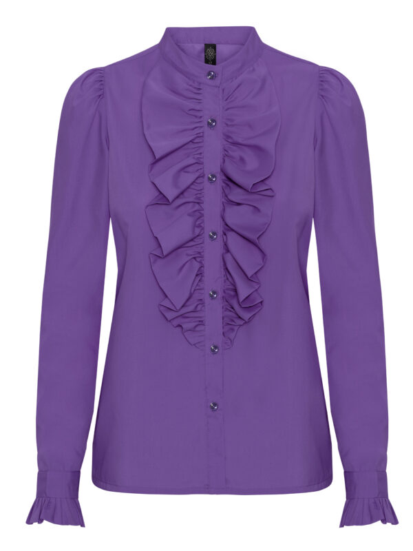 The Queen Ruffle Lavendel