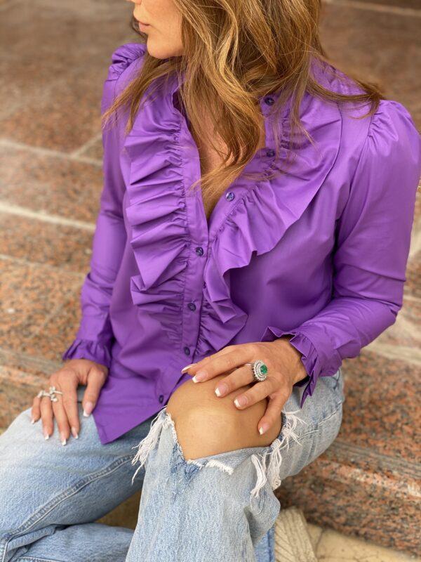 The Queen Ruffle Lavendel