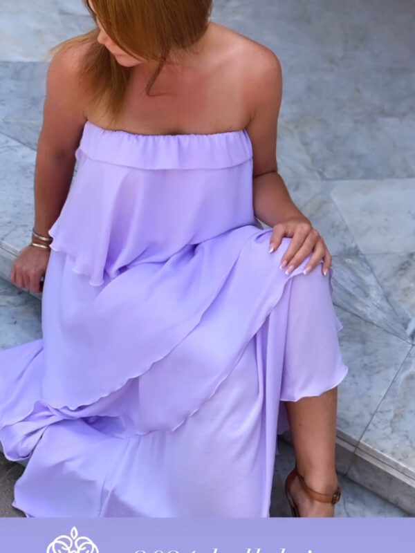 Juliette Viol Kjole